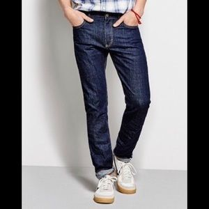 J. CREW The Driggs Slim Fit  30x30 Jean